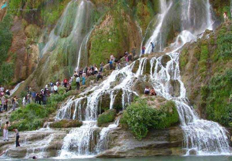 آبشار آب سفید کجاست