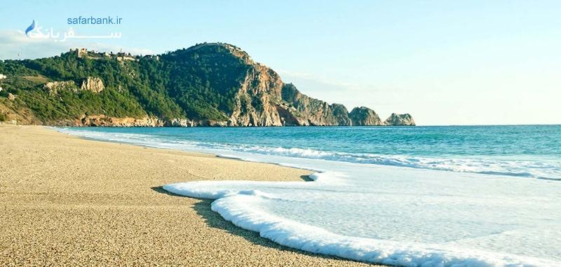ساحل کلئوپاترا از سواحل خاص آنتالیا