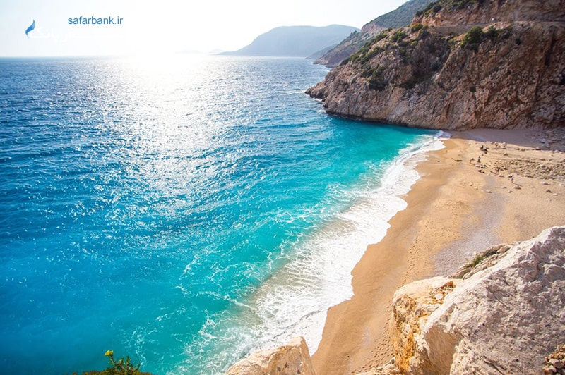 ساحل کاپوتاس از سواحل آنتالیا