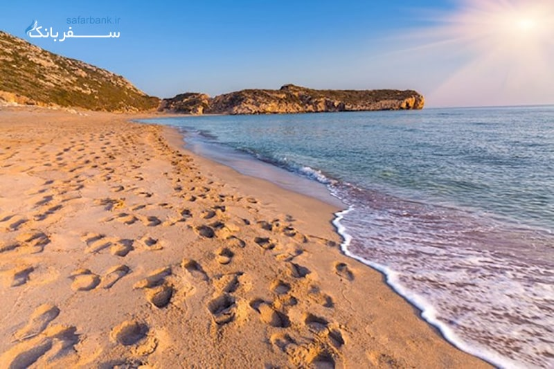 ساحل پاتارا آنتالیا از سواحل آنتالیا در ترکیه
