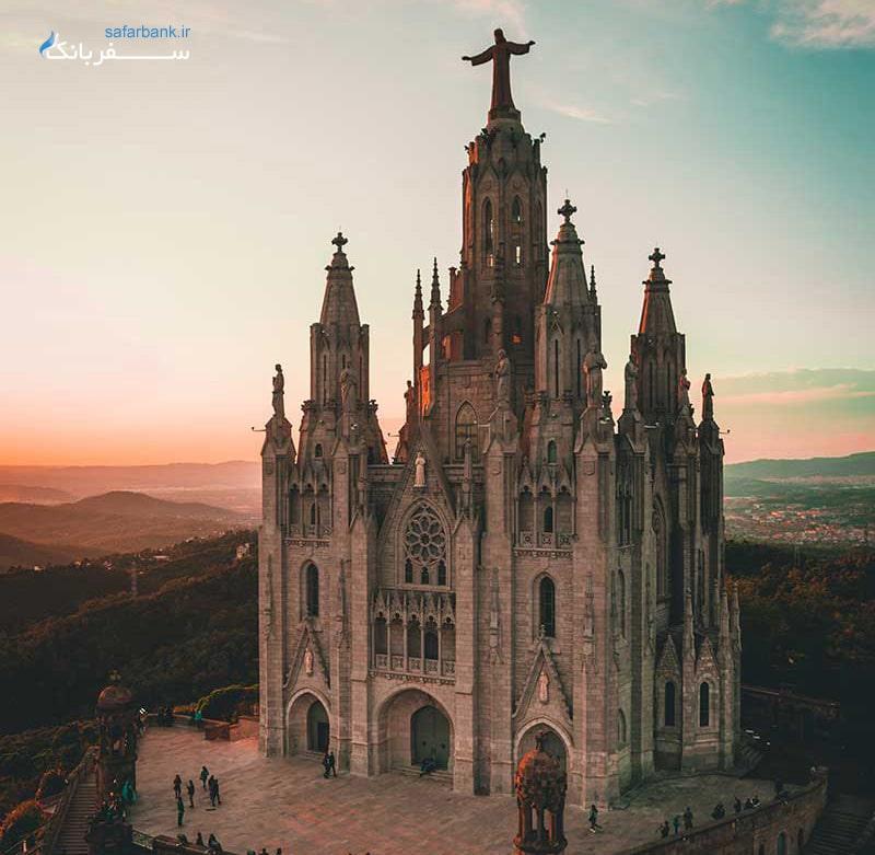 کلیسای قلب مقدس در تور اسپانیا و بازدید از اماکن دیدنی شهر مادرید