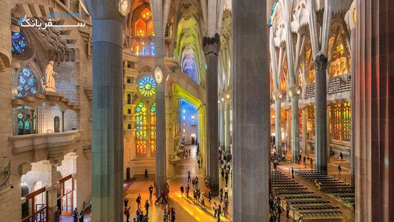 زیبا ترین کلیسا های اسپانیا از جاهای دیدنی اسپانیا