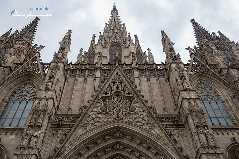 کلیسای جامع بارسلونا از اماکن و جاهای دیدنی اسپانیا