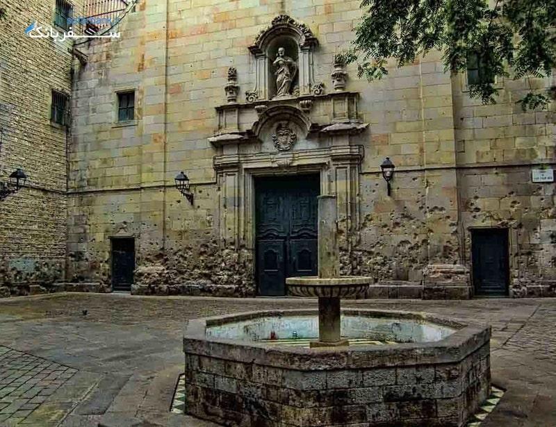 کلیسای فلیپ نری از اماکن دیدنی تور اروپا و بارسلونا