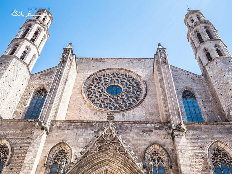 کلیسای سانتا ماریا دل مار از جاهای دیدنی مادرید اسپانیا