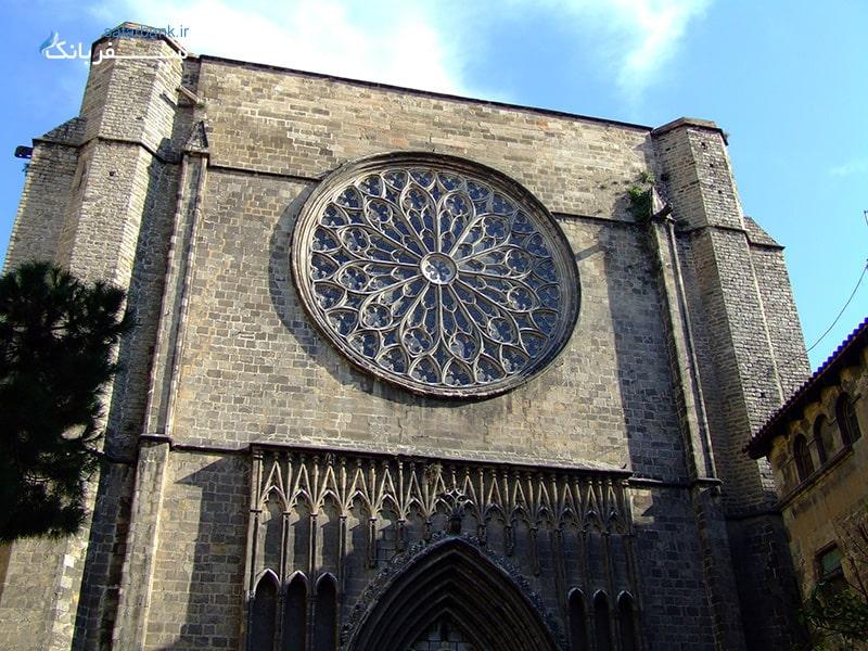 کلیسای سانتا ماریا دل پی از اماکن دیدنی اسپانیا