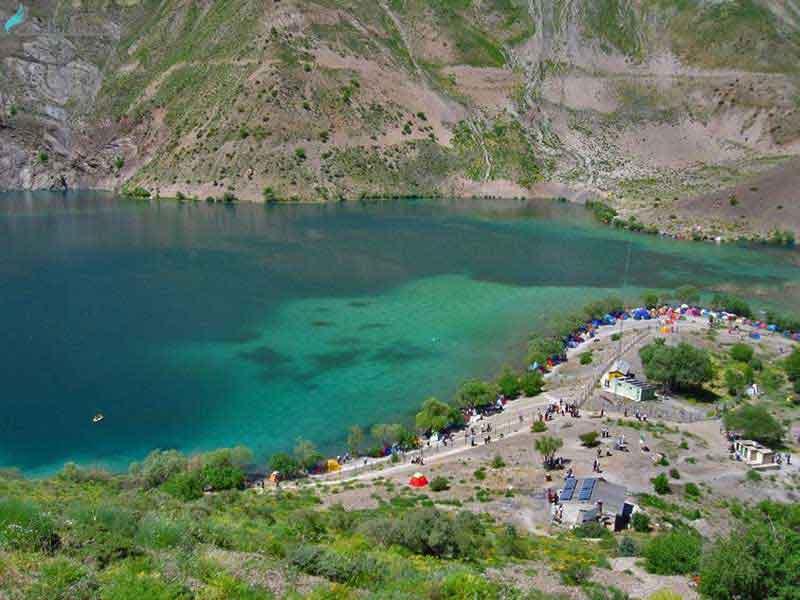 دریاچه گهر در کجاست