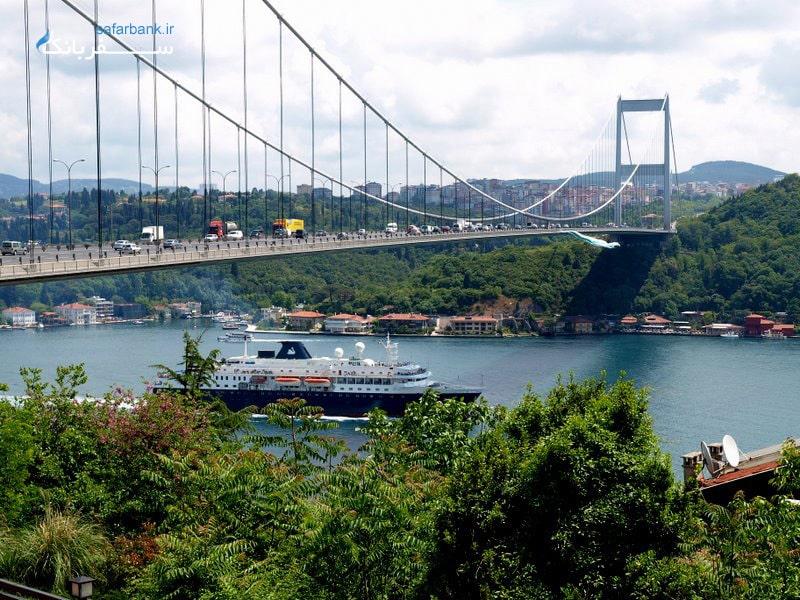 پل سلطان فاتح استانبول
