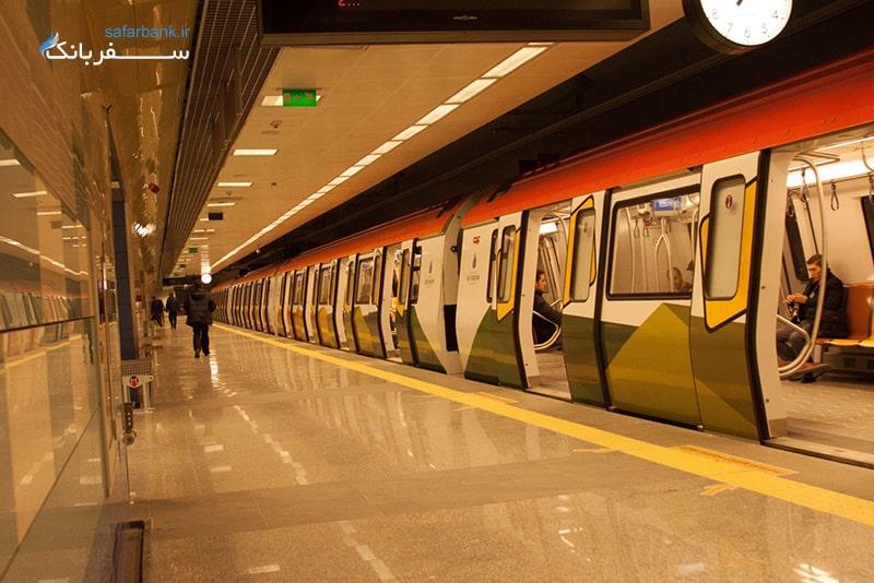 متروی شهر استانبول