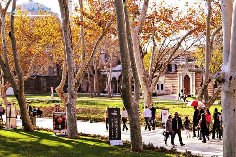آب و هوای استانبول در تور پاییزه