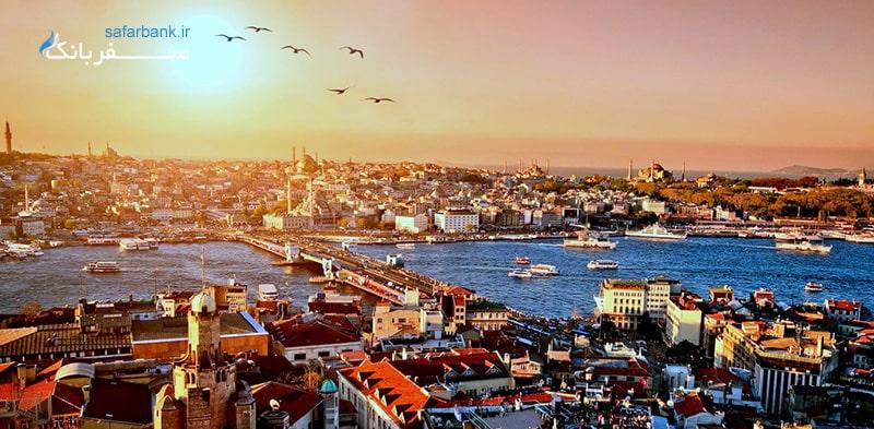 استانبول در فصل پاییز