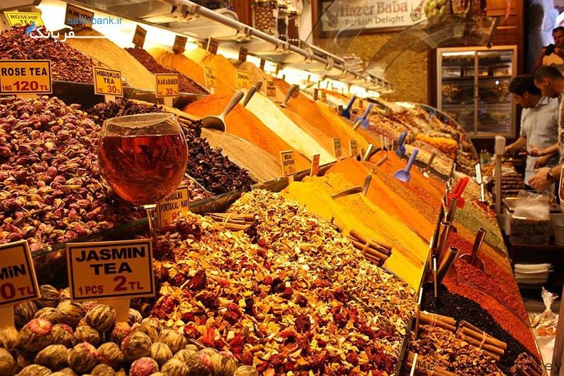 بازار مصری ها در استانبول از مراکز خرید ارزان ترکیه
