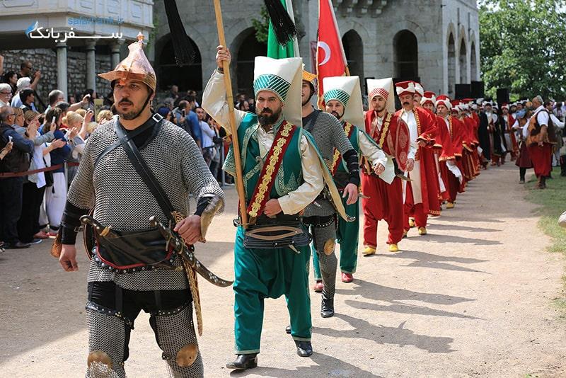 جشنواره فتح از دیدنیهای استانبول