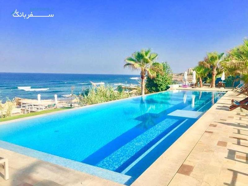 lazy B از سواحل لبنان