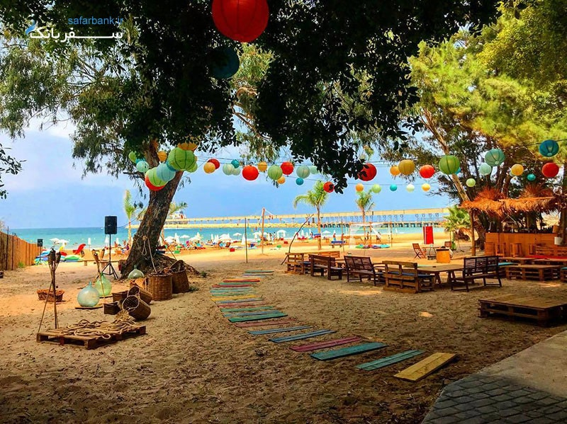 ساحل صور از سواحل لبنان
