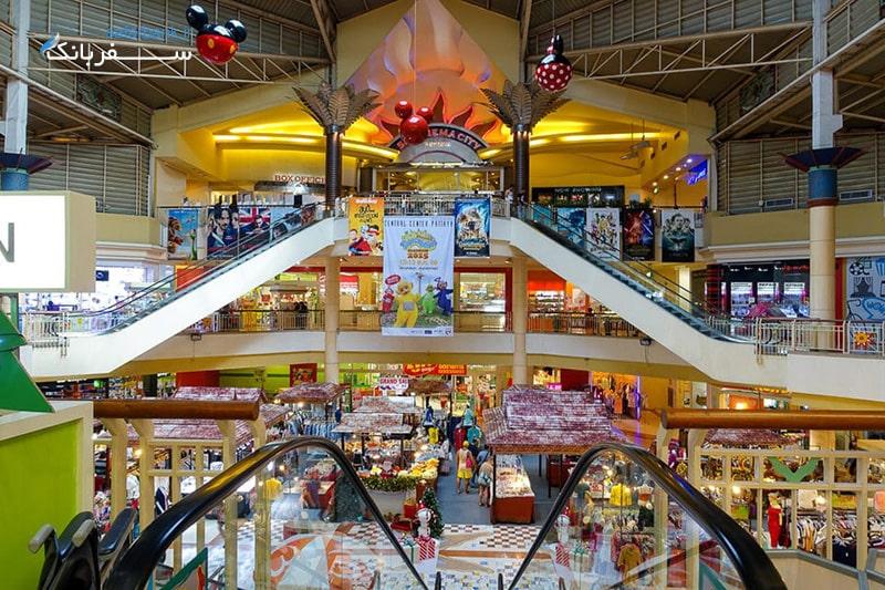 مرکز خرید سنترال سنتر در شهر پاتایا