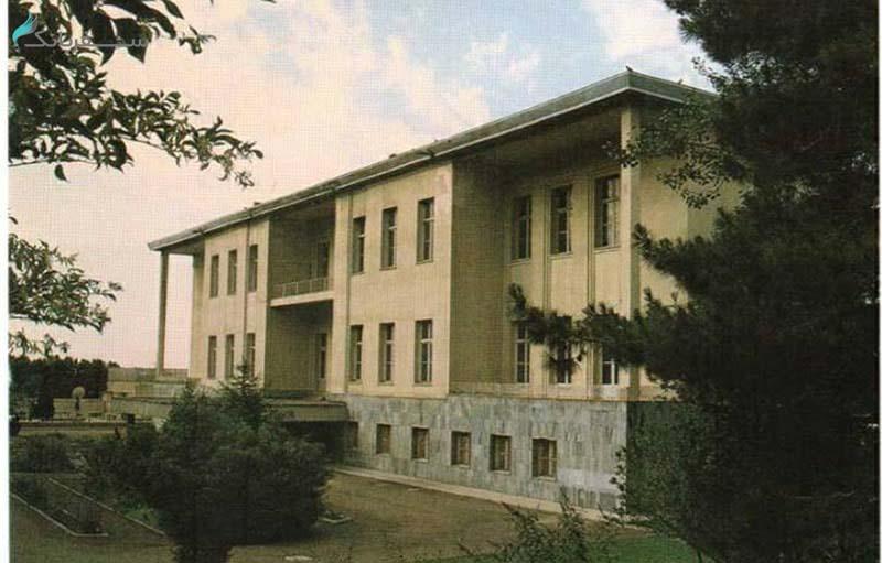 بازدید از کاخ سعد آباد