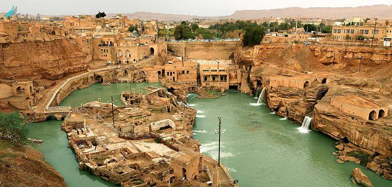 سد باستانی شوشتر