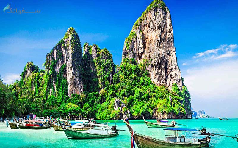 جامتین بیچ از سواحل تایلند
