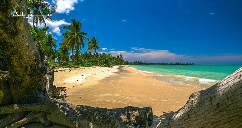 سواحل جزیره کولیپ از سواحل تایلند