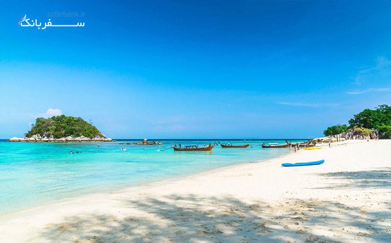 فرانانگ بیچ از سواحل شهر کرابی تایلند