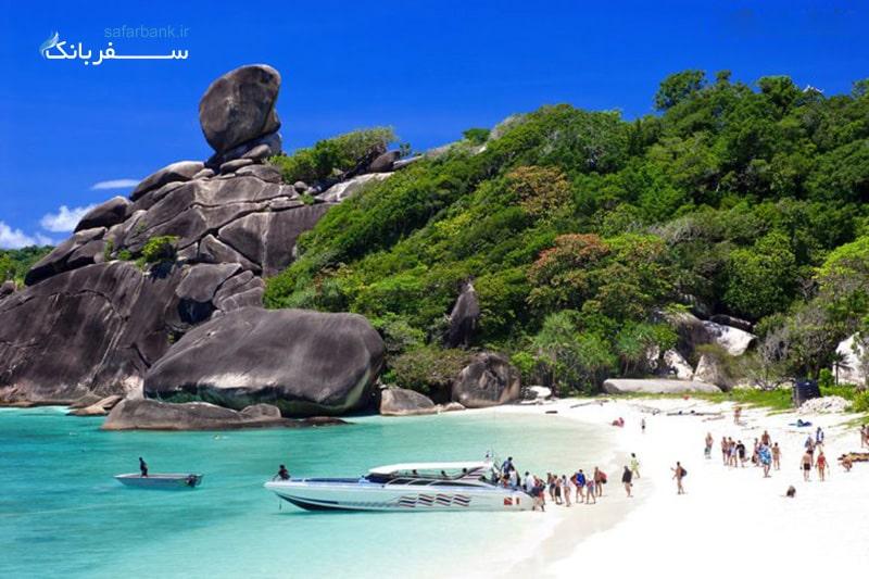 ساحل کو فی فی دون در پوکت تایلند