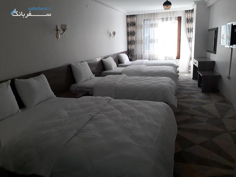 هتل توپراک، نام هتل های شهر وان ترکیه