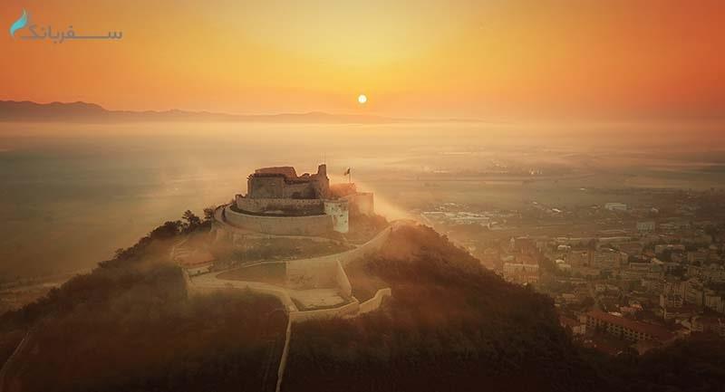قلعه ای در رومانی برنده جشنواره عکاسی