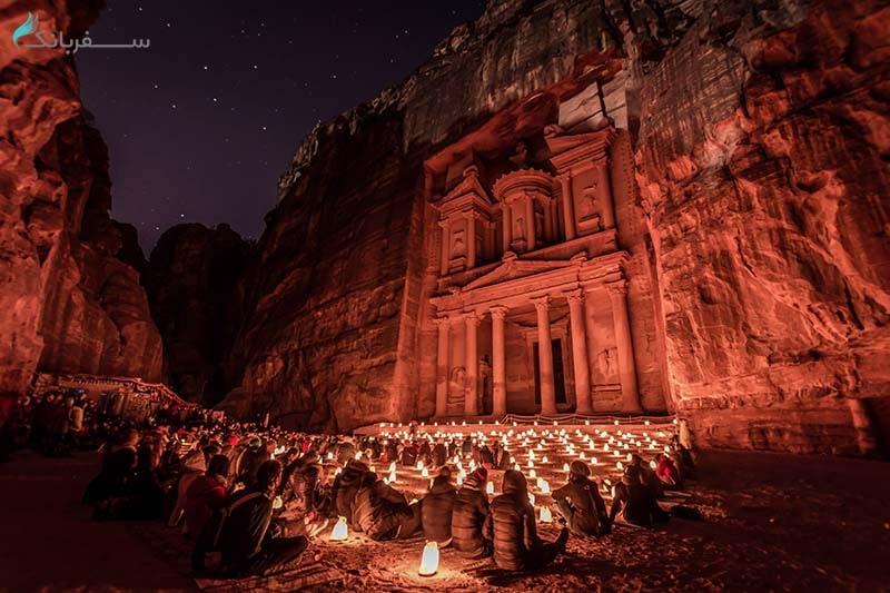 شهر پترا در اردن برنده مسابقه ویکی پدیا از دیدنی های جهان