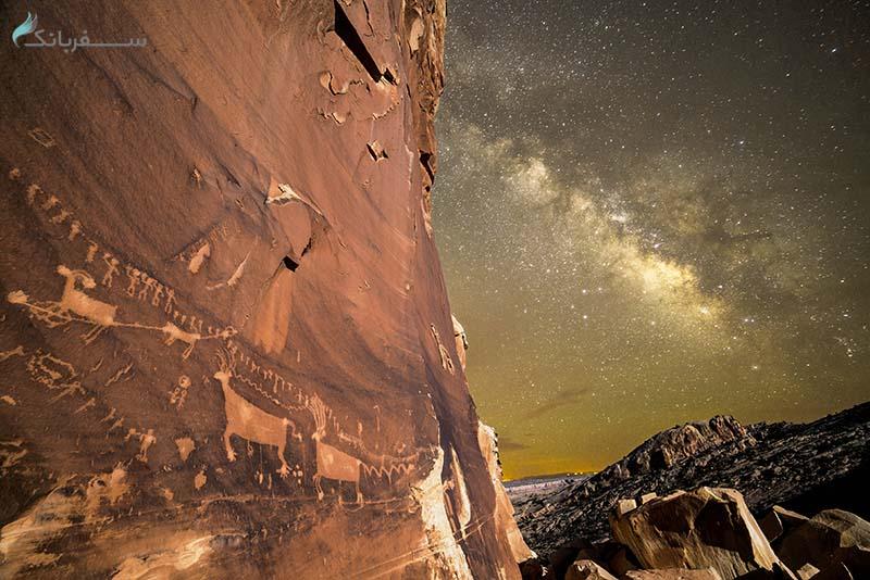 حجاری روی سنگ در آمریکا