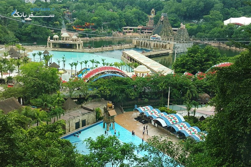 سان وی لاگون مالزی از بهترین پارک های آبی دنیا