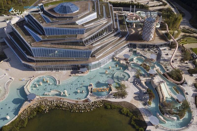 پارک آبی آکوالاگون فرانسه، بهترین پارک های آبی دنیا