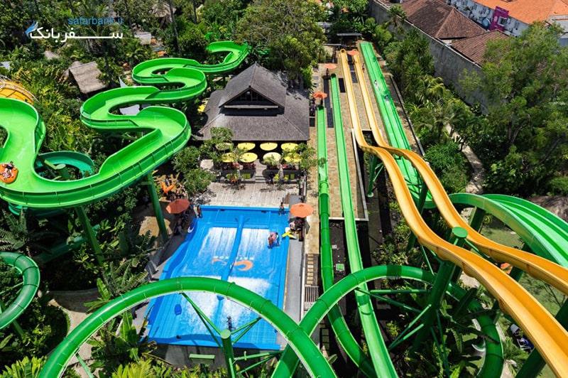 برترین پارکهای آبی دنیا، پارک آبی واتربوم بالی، اندونزی