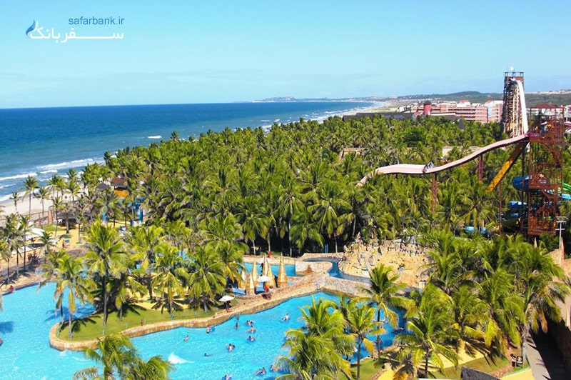 بهترین پارک های آبی دنیا، پارک آبی ساحلی، برزیل