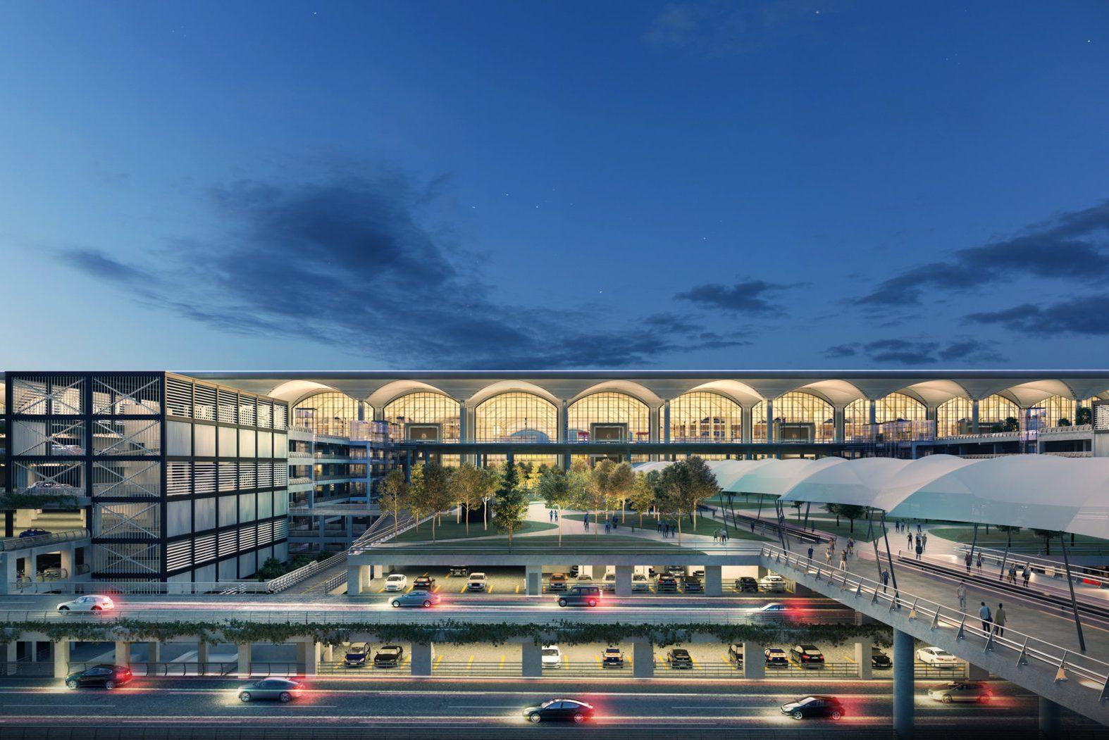 مگا فرودگاه استانبول ترکیه