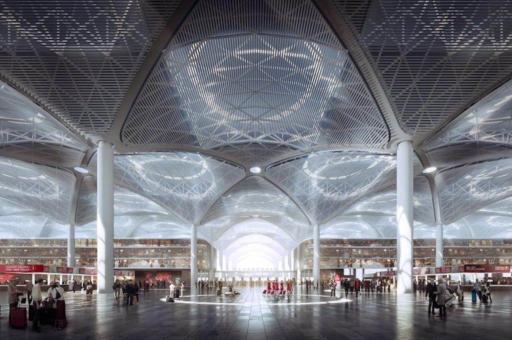 مگا فرودگاه استانبول بزرگترین فرودگاه ترکیه
