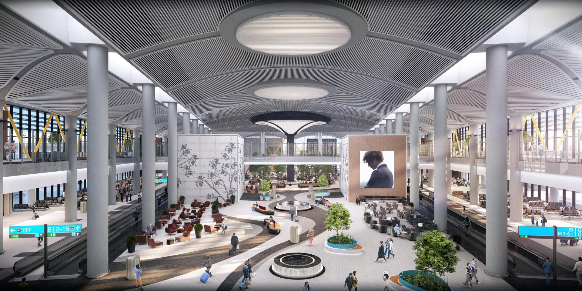 مگا فرودگاه استانبول بزرگترین فرودگاه جهان