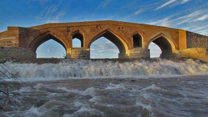 پل سرچشمه روستای مردق