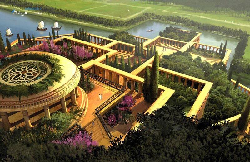 عجایب هفتگانه جهان؛ باغ های معلق بابل