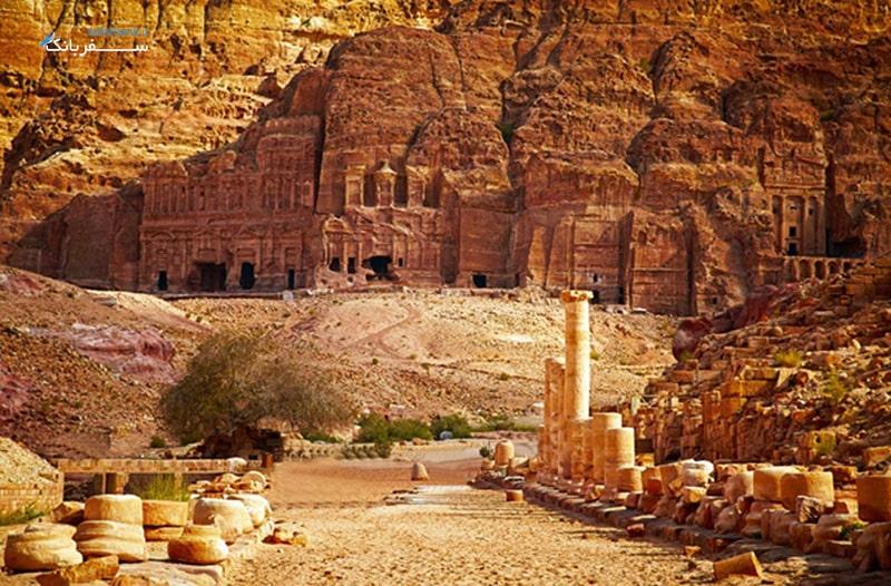 عجایب هفتگانه جدید، پترا در اردن