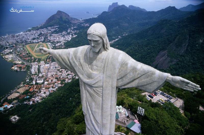 عجایب هفتگانه جدید؛ تندیس مسیح در ریو دوژانیرو