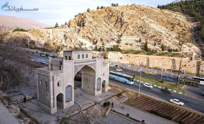 باغ ارم از جاهای دیدنی شیراز