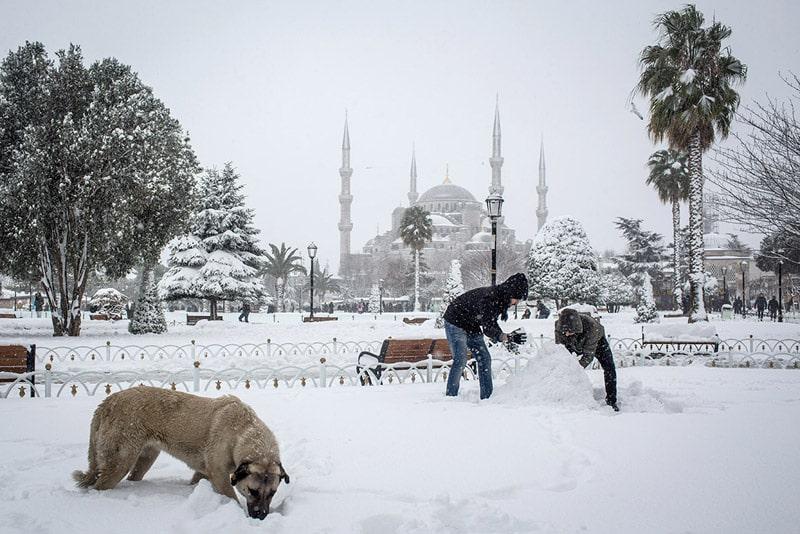 جاذبه های دیدنی استانبول در زمستان