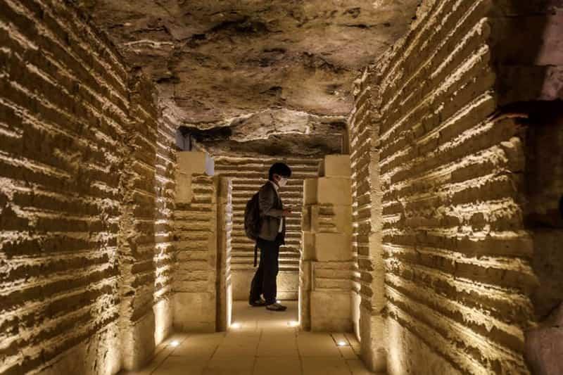 بازدید از داخل اهرام مصر