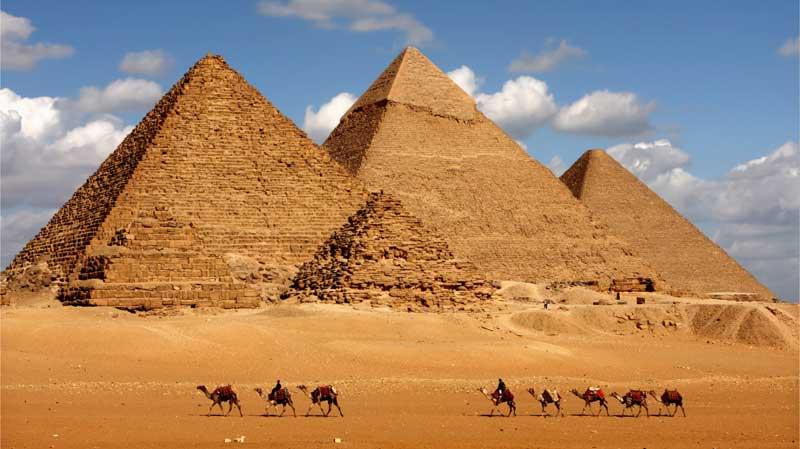 بازدید از اهرام مصر