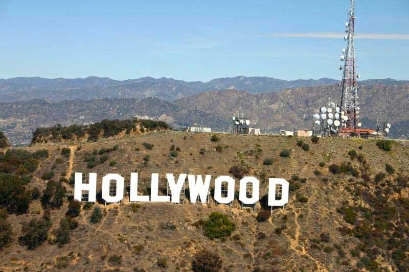 متن و نوشته ی روی کوه هالیوود کجاست