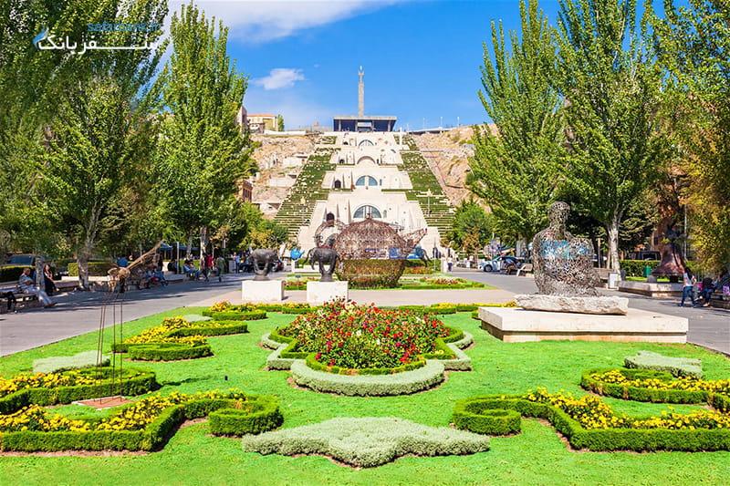 کاسکاد یا هزار پله ارمنستان