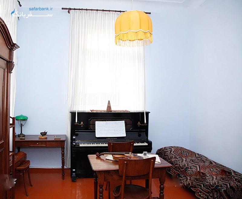موزه های ارمنستان، موزه خانه الکساندر اسپندیاریان