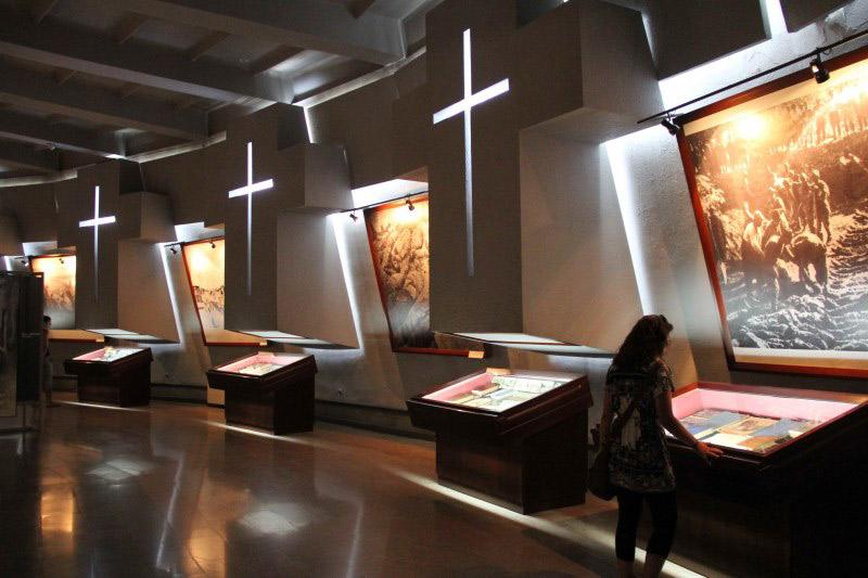 موزه نسل کشی ارمنی ها در شهر ایروان