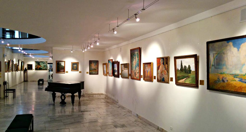 موزه های ارمنستان، موزه هنرهای روسی در ایروان